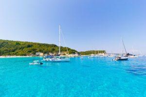 piękny pejzaż wyspy