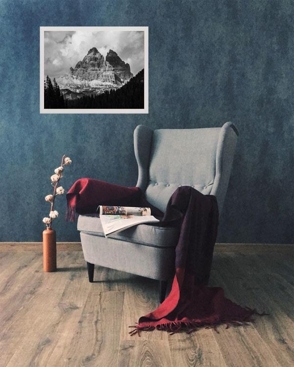 Góry - plakat premium